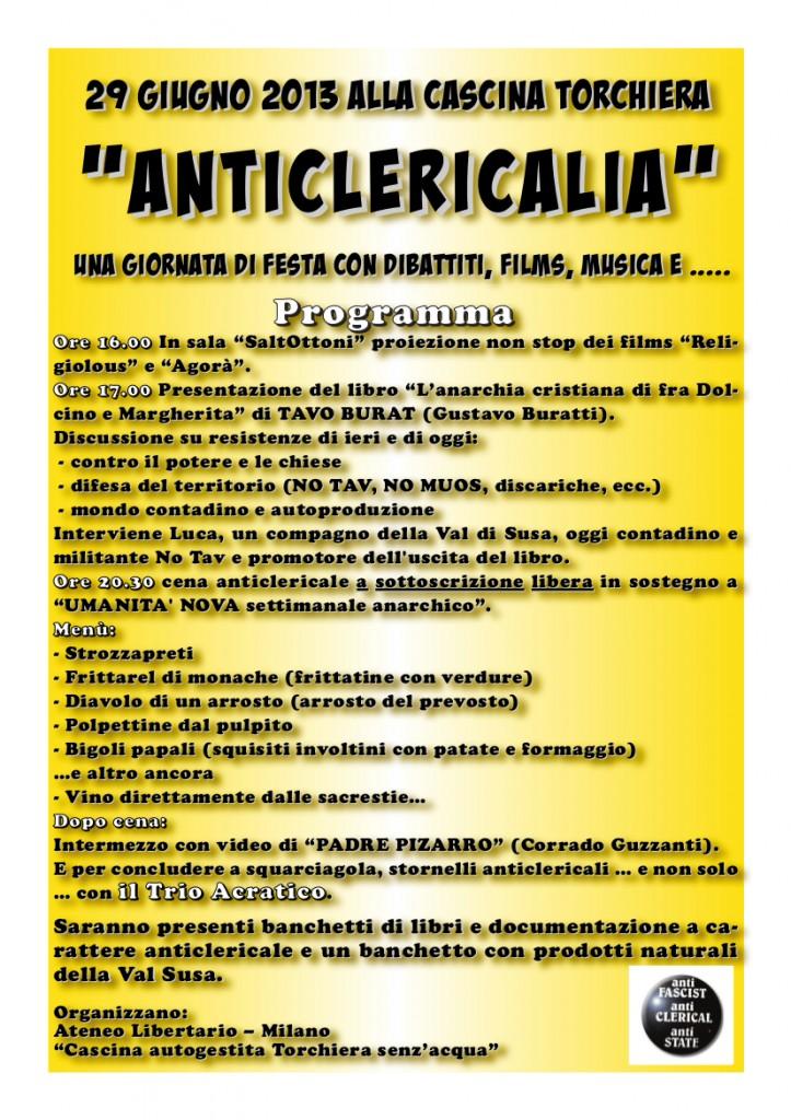 Locandina Anticlericalia